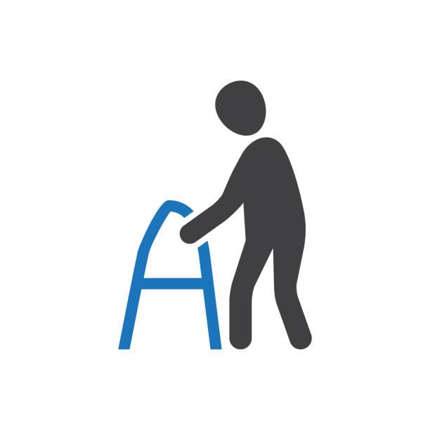 Alter Mann-Symbol – Vektorgrafik