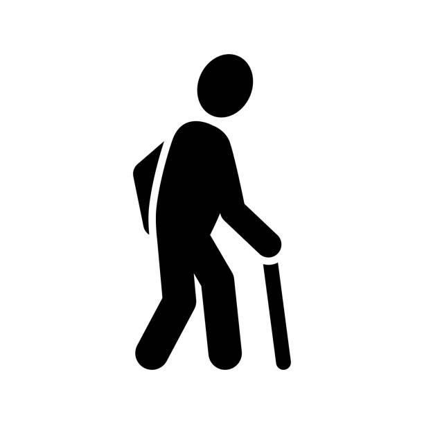Old man Icon – Vektorgrafik
