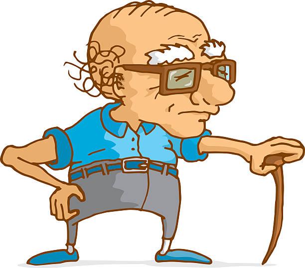 Top 60 Grumpy Old Man Clip Art Vector Graphics And Illustrations