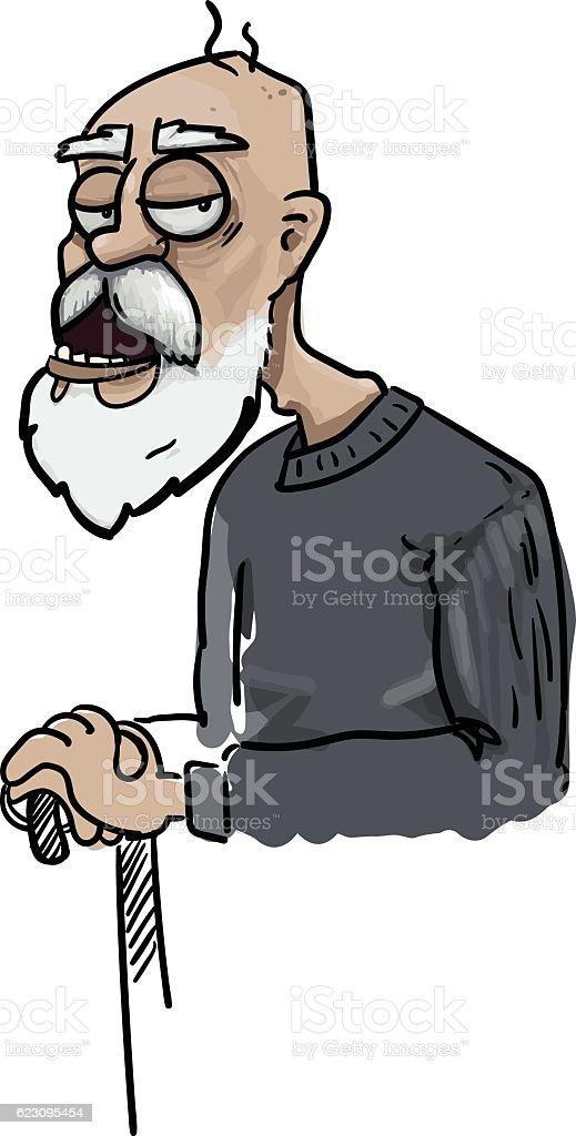 royalty free grumpy old man clip art vector images illustrations rh istockphoto com old man clip art free old man clip art images