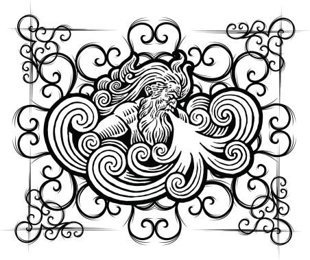 Old Man Winter - Storm Design