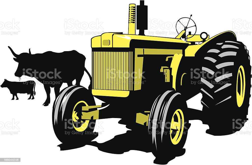 Old McDonald Had a Farm EIEIO vector art illustration