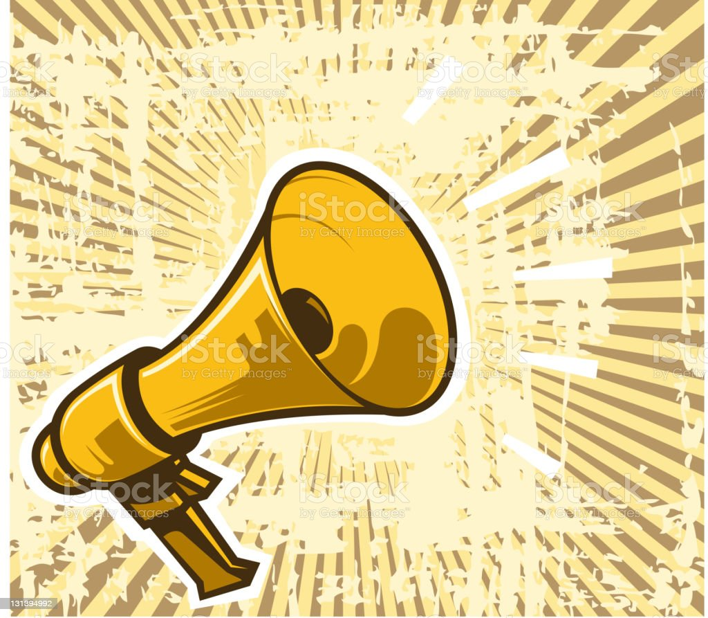 old megaphone royalty-free old megaphone stock vector art & more images of abstract