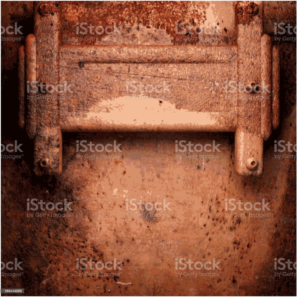Old metal background royalty-free old metal background stock vector art & more images of backgrounds