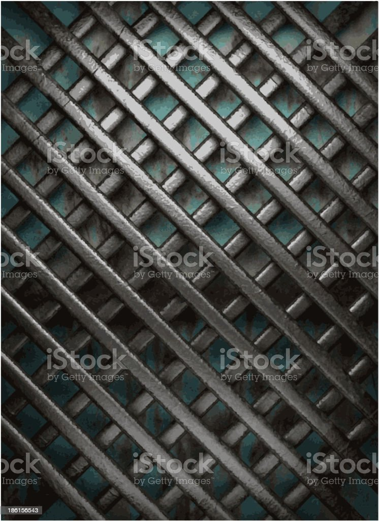 Old metal background royalty-free stock vector art