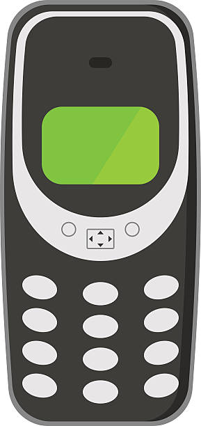 Royalty Free Old Cell Phone Clip Art, Vector Images ...Old Cell Phone Clip Art