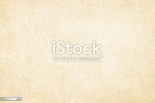 Horizontal Old off white beige colored cracked effect wooden, wall texture vector background . Rectangular grunge background. The cracks are too close, near to each other forming small polygons, closed loops. Marbled effect. Scuffed, weathered wall paint effect.