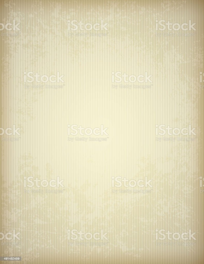 Old paper texture with strips vector art illustration