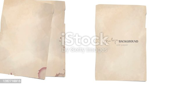 istock Old paper 1282716915