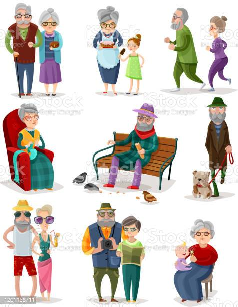 Old people senior cartoon people set vector id1201156711?b=1&k=6&m=1201156711&s=612x612&h=du8hz7qvrar2vvzasajddu91lz3yngqjr5fbk1tu6sk=