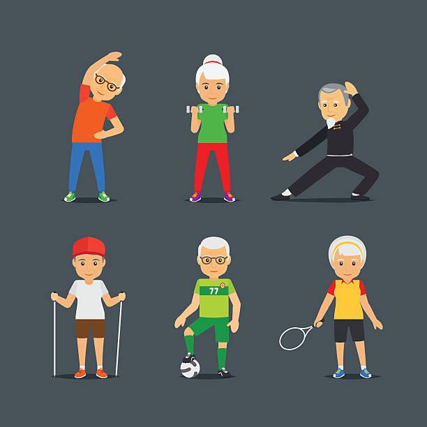 Top 60 Senior Sports Clip Art, Vector Graphics and