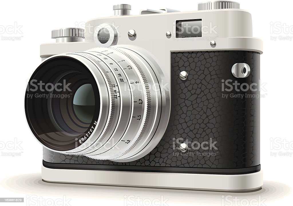 Old photo camera royalty-free old photo camera stock vector art & more images of black color
