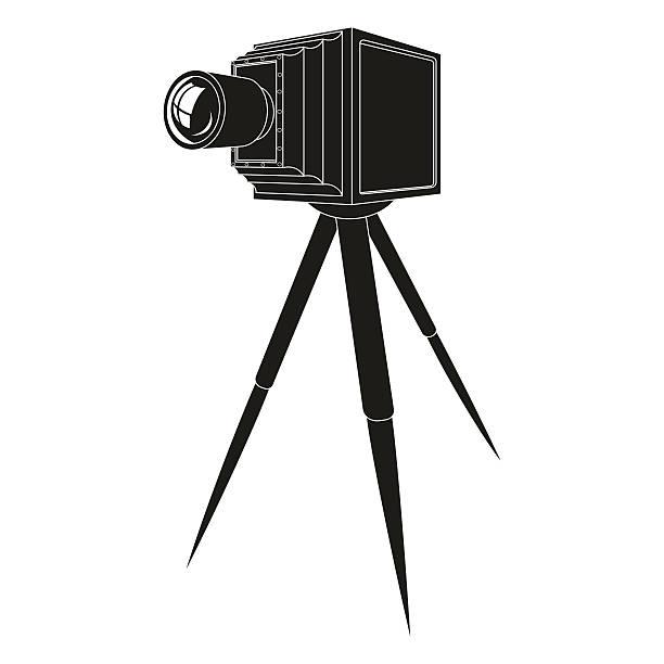 altes foto kamera - fotografieanleitungen stock-grafiken, -clipart, -cartoons und -symbole