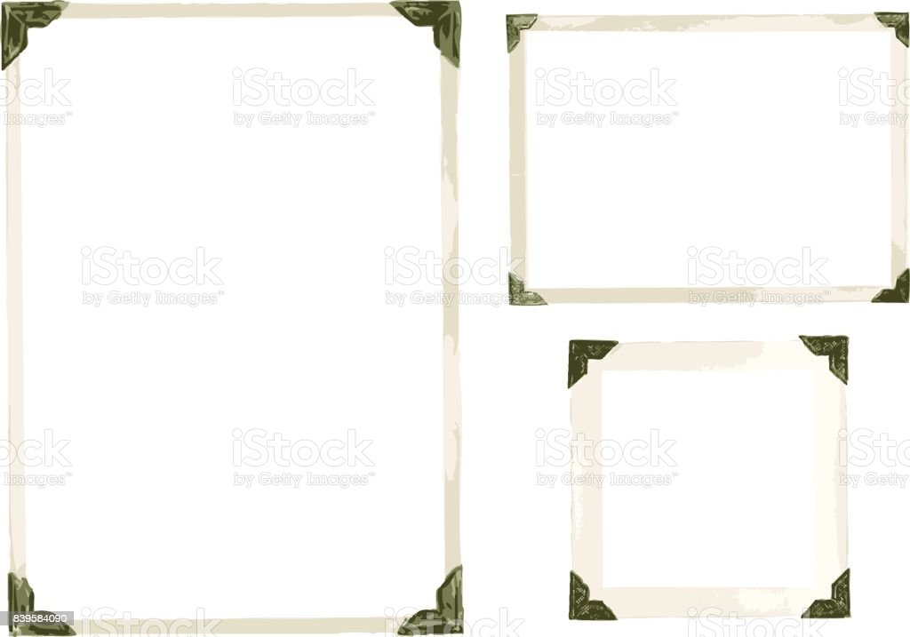 Vieille Photo Corners Vector - Illustration vectorielle