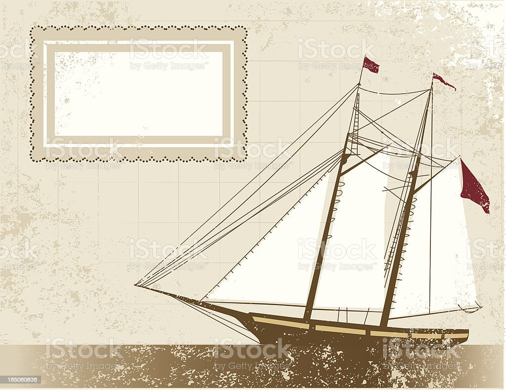 Old Pirate Schooner royalty-free old pirate schooner stock vector art & more images of 17th century style