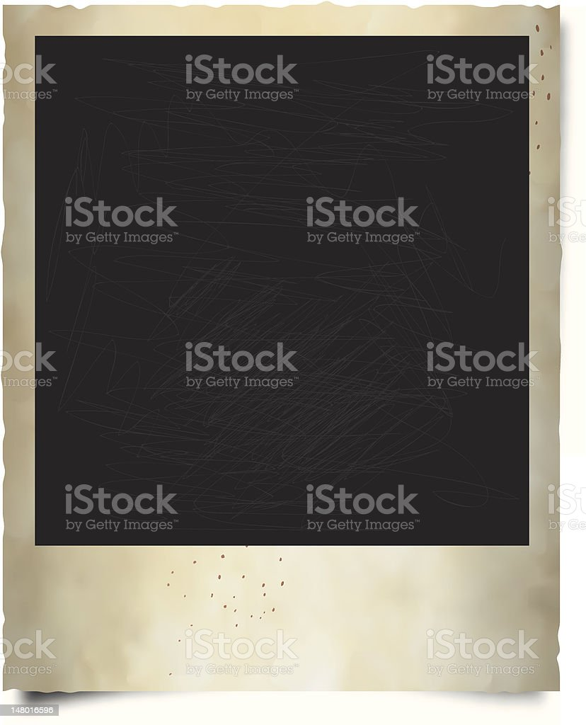 Old Polaroid Frame Stock Vector Art & More Images of Bad Condition ...