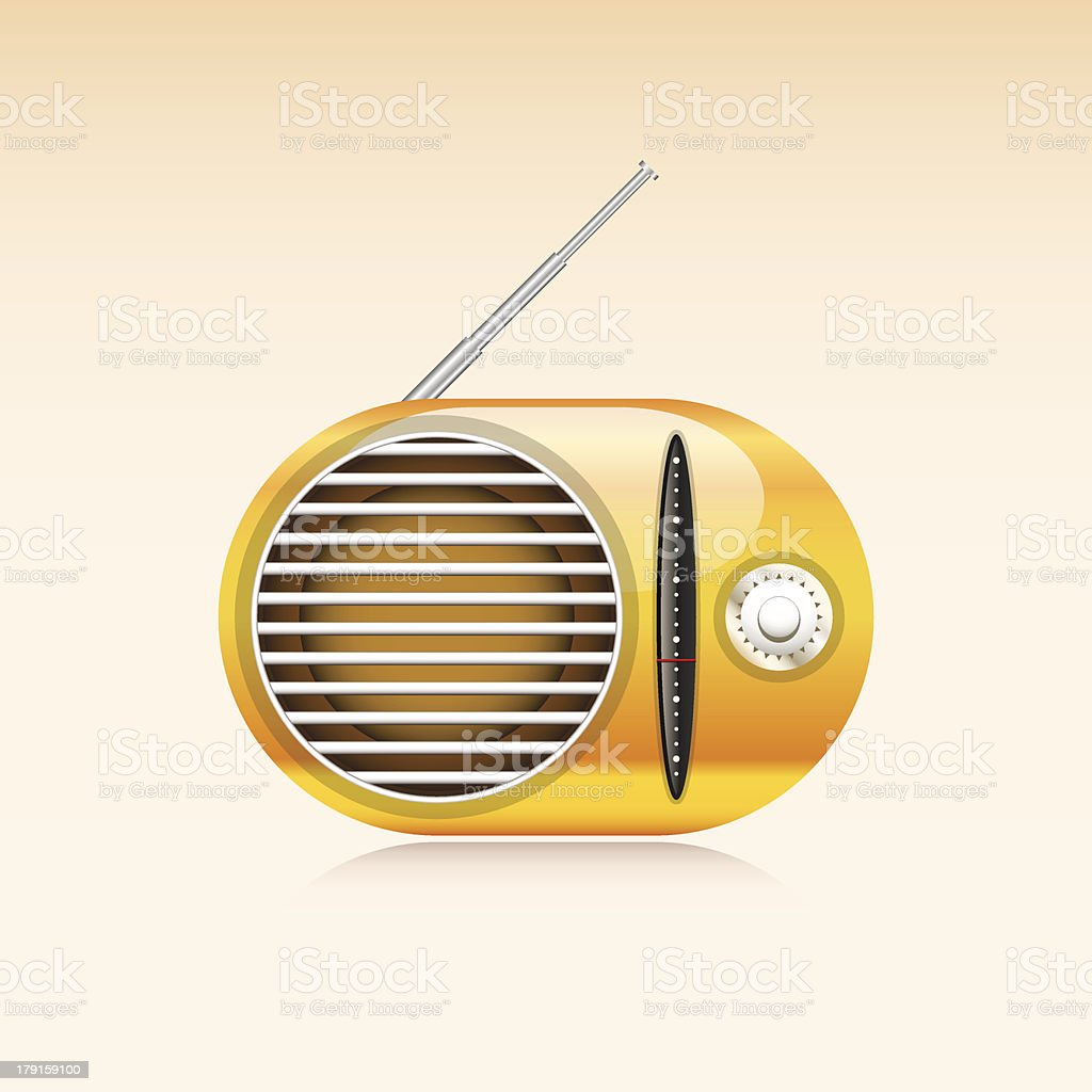 Old radio royalty-free old radio stock vector art & more images of arts culture and entertainment