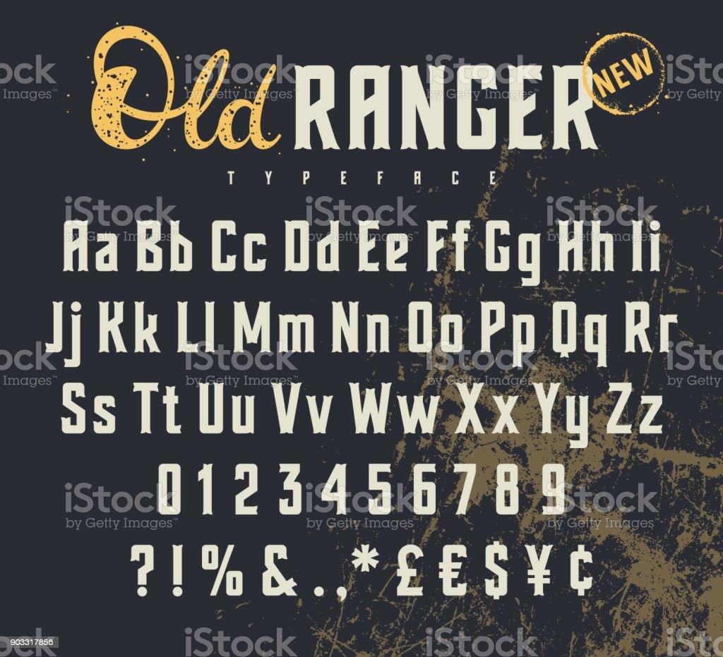 Antiguo Ranger 001 ilustración de antiguo ranger 001 y más vectores libres de derechos de arte libre de derechos