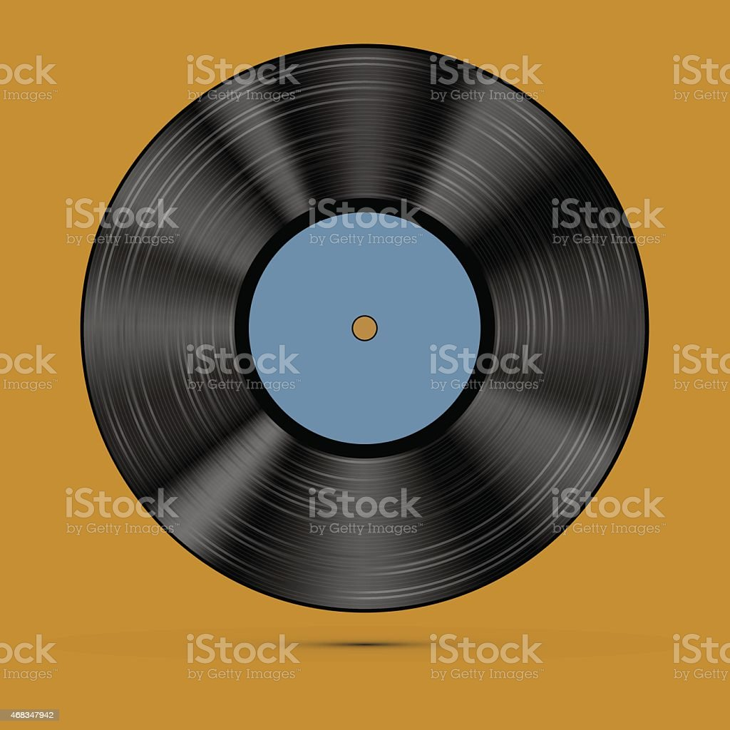 old, retro  records, LPs, royalty-free old retro records lps stock vector art & more images of 2015