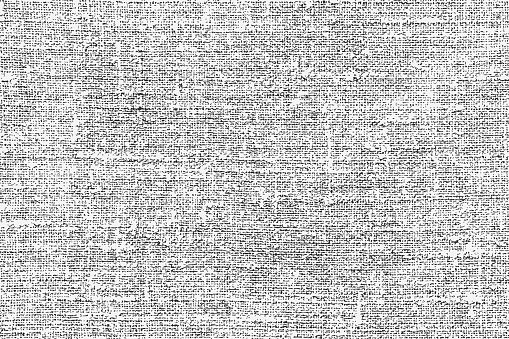 Old rough natural burlap grunge overlay texture as a background