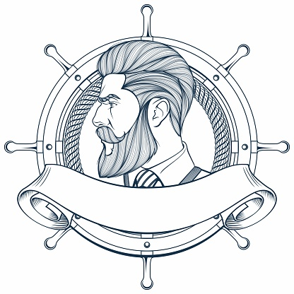 Old sailor, captain
