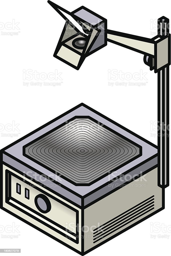 royalty free overhead projector clip art vector images rh istockphoto com video projector clipart project clipart