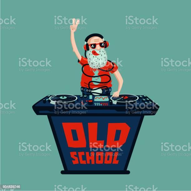 Old school retro party senior adult dj with vinyl vector id934839246?b=1&k=6&m=934839246&s=612x612&h=2wvvrowlddebdc7xyh kava0g8q8ddjvqlqiix5oss0=