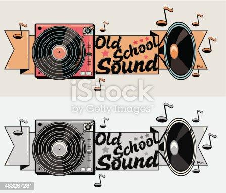 istock Old School Sound 463267281