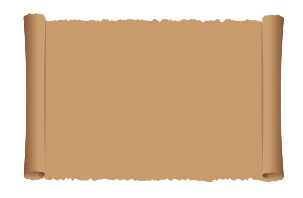 ilustrações, clipart, desenhos animados e ícones de ilustração velha do vetor do papel do rolo - mapas de tesouro