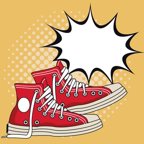 6,462 Converse Shoes Illustrations & Clip Art - iStock