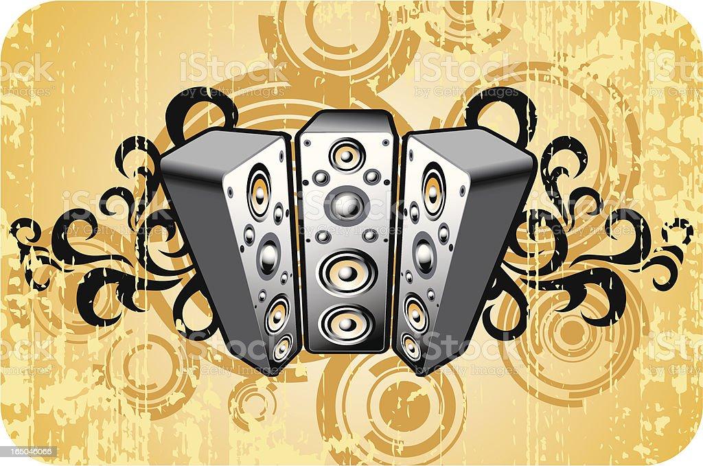 old speaker design royalty-free old speaker design stock vector art & more images of abstract