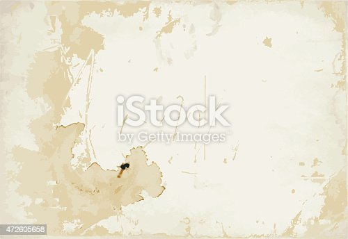 istock Old stained paper texture 472605658