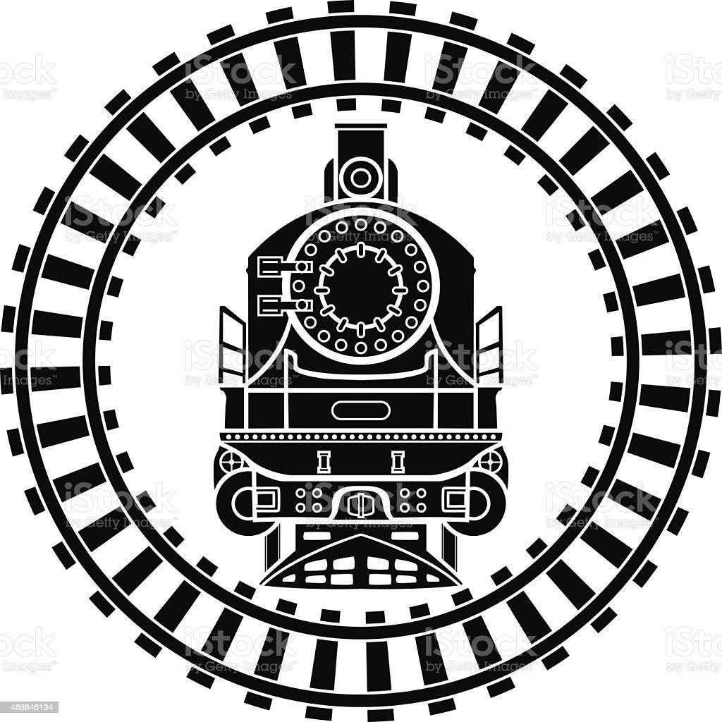 royalty free railroad track clip art vector images illustrations rh istockphoto com train track clipart train tracks clipart