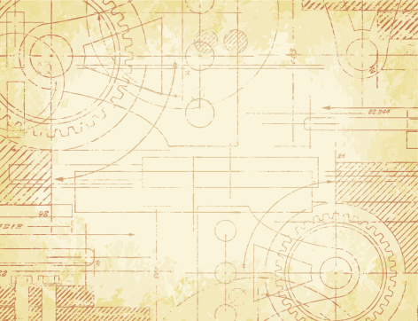 Old Technical Drawing