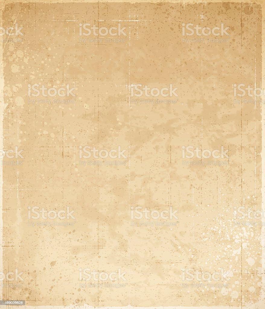 Old Textured Paper vector art illustration