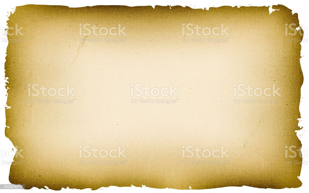 Old Textured Parchment Background vector art illustration