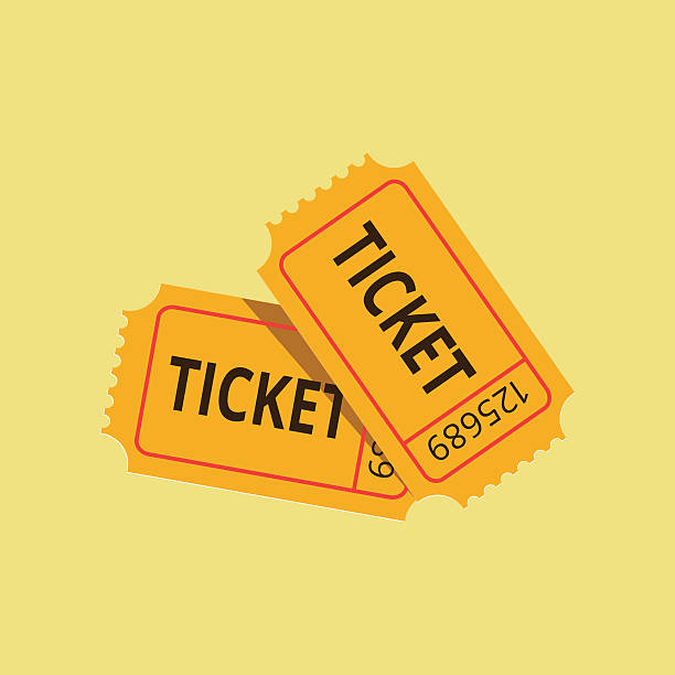 Royalty Free Raffle Ticket Clip Art, Vector Images & Illustrations ...