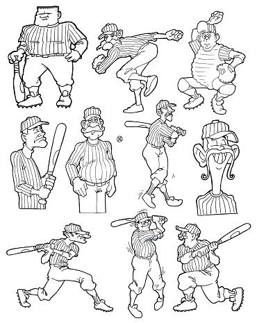 Old Time Baseball Players