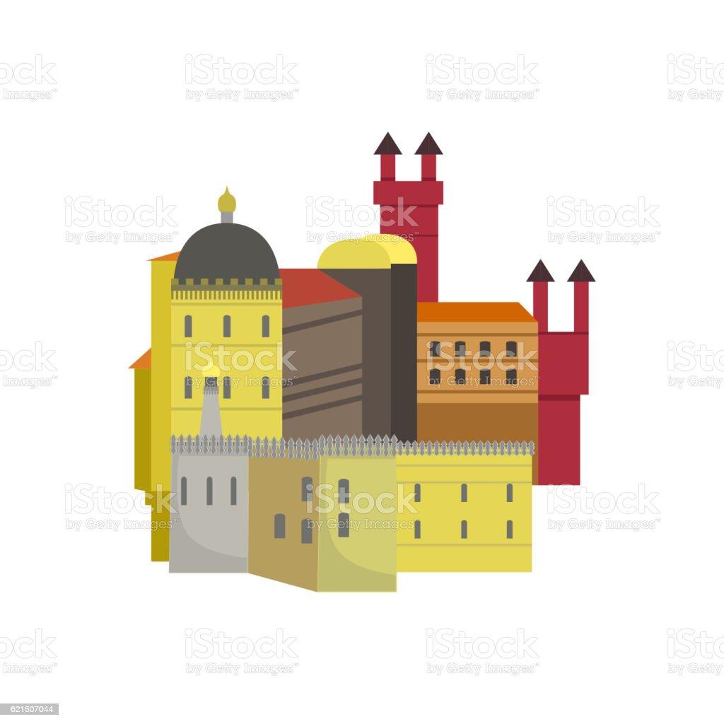 Old Town Architecture Portuguese Famous Symbol old town architecture portuguese famous symbol – cliparts vectoriels et plus d'images de architecture libre de droits