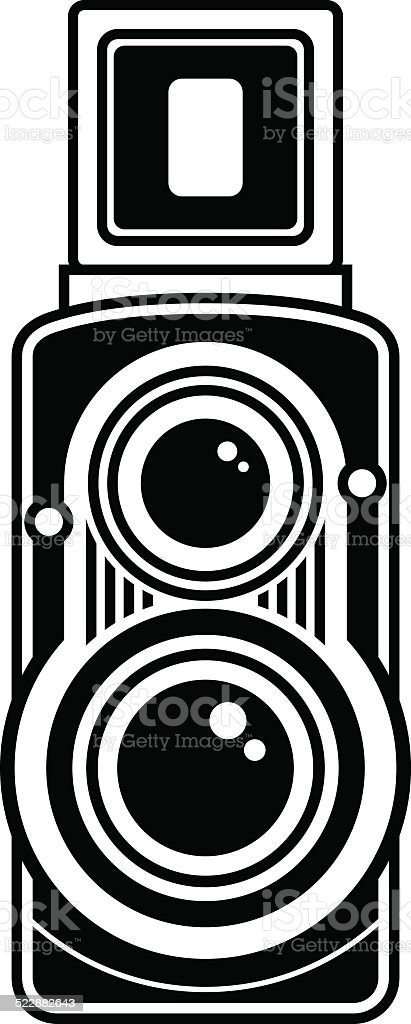 Old Vintage Camera Icon Royalty Free Stock Vector Art Amp