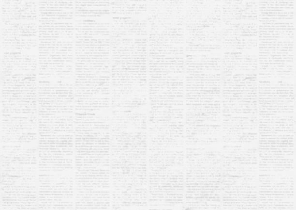 ilustrações, clipart, desenhos animados e ícones de fundo de textura de papel de jornal grunge vintage antigo. - paper texture