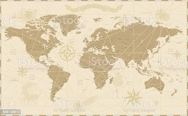 Old vintage retro world map vector id639139610?b=1&k=6&m=639139610&s=612x612&h=qdghvqcafrlntsnur3rknrc8 vivu5pc tknjybrhms=