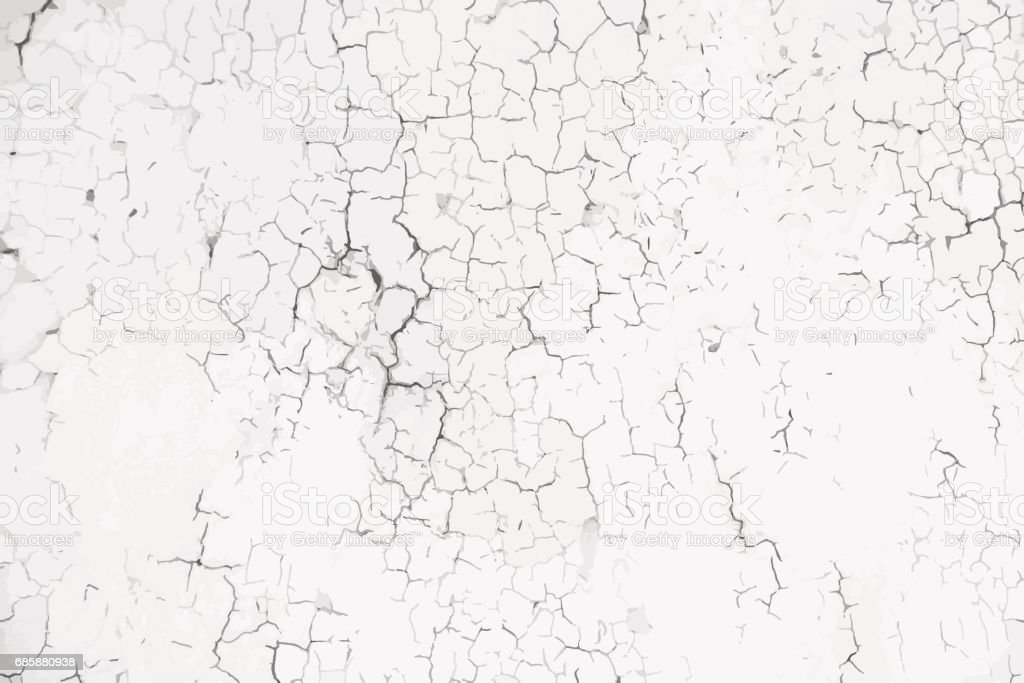 Old weathered paint background vector art illustration
