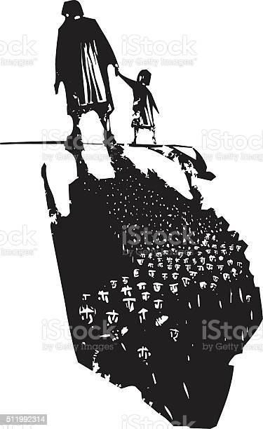 Old woman with child trailing refugees vector id511992314?b=1&k=6&m=511992314&s=612x612&h=jerl9tmvy7cqxnsotznsbu9zbghmmcfdwokrwgu2lho=