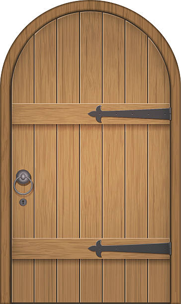 Royalty Free Castle Door Clip Art, Vector Images & Illustrations ...