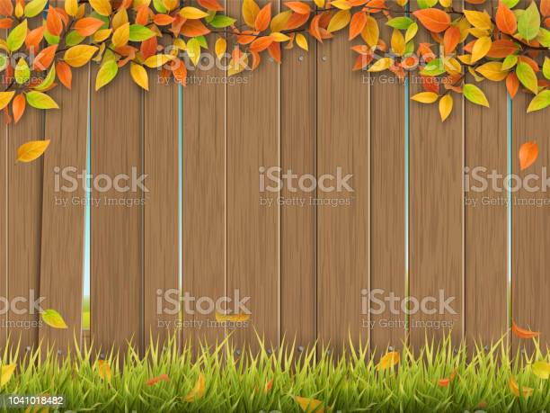 Old wooden fence autumn tree and grass vector id1041018482?b=1&k=6&m=1041018482&s=612x612&h= 5hifgnpt1awalwur2pfoehjh17ckmszil8pborazle=