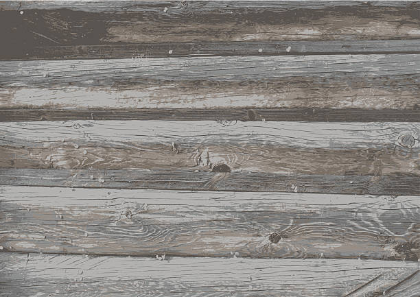Old wooden texture background. High detailed wooden texture background. bad condition stock illustrations