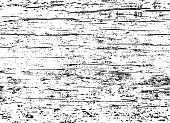 Old wood black and white texture. Vector image