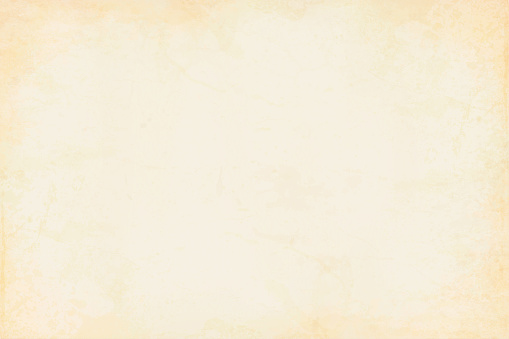Old yellowed cream beige colored smudged effect blotched wooden, wall texture grunge vector background- horizontal - Illustration. No text. No people. Empty, blank. copy space. Vignetting. Wallpaper, grunge background. Lighter  beige shade in the centre , center and more yellow brown at the sides and corners