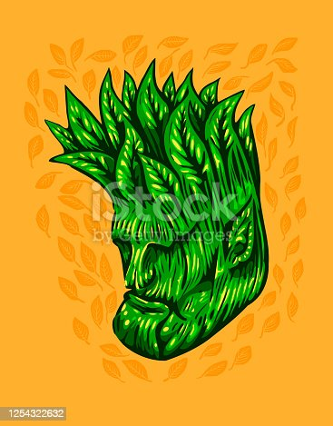 istock Old_Face_Tree 1254322632